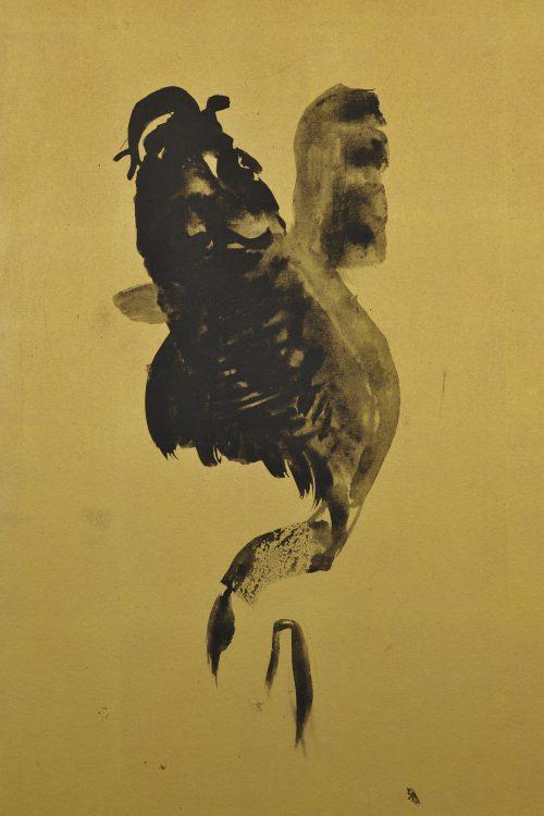 yamamoto-shunkyo-japanese-leaping-carp-painting-detail